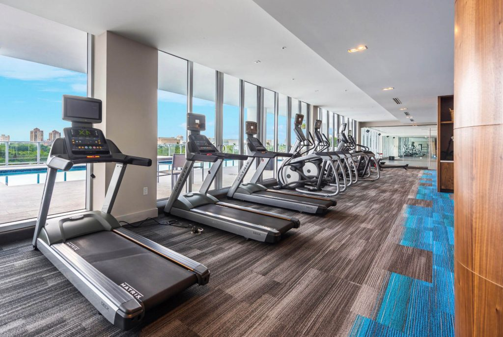 Fitness Room with treadmills
